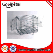 Hot sell portable foldable metal wire pet cage dog crate