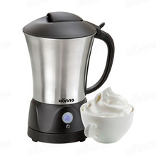 Premium Dual function automatic milk frother for hot and cold milk heating, Latte Cappuccino