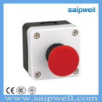 SAIP/SAIPWELL ABS Enclosure Pushbutton Plastic IP65 Waterproof Control Box