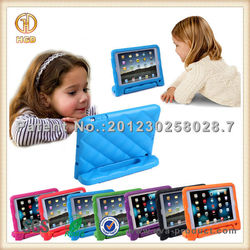 Durable shock proof EVA hot selling stand hard case for iPad mini
