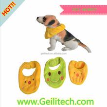 2015 NEW Cute Pet Bibs Saliva Towels Dog Cat Bib Triangle Towel Dog Accessories Supplies
