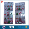 cheap christmas party plastic candy bag ,printed santa claus cello bag