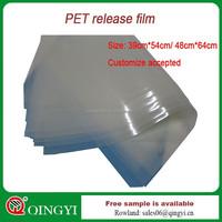 Qingyi new design 1185-B 100 microns transparent film