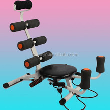 Adjustable Abdominal Machine Six-Pack Bench Exercise Body Weight 360 Degree Rotated Seat