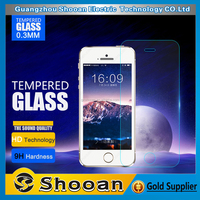 Quality guaranteed mobile phone use for iphone 4s tempered glass screen protector