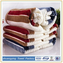 Factory custom 100 cotton stripe soft and decorative hand Towels