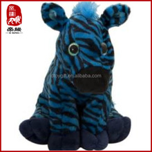 Customized toy wholesale plush wild animal toy stuffed zebra stripe animals
