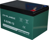Chilwee MF Silicone gel battery 12V14AH/20HR for UPS Application