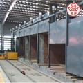Pequeñas de ladrillo de arcilla del túnel del horno, eficiente de secado y sistema de disparo para despedido ladrillos