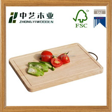 2015 year china factory supplier sale FSC&SA8000 kitchen chopping vegetable hard wooden cutting board made in China