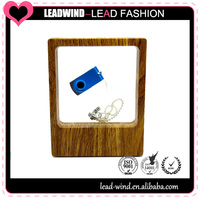 Display Window USB flash drive packing white/black gift packaging box