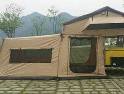 2015 Korea style 5+ person camping car tent for family camping