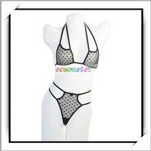 HOT! Black Fishnet Women Extreme Sexy Lingerie