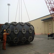 marine depend on the ball safe for excess load boat fender using ship to ship working press 0.05Mpa - 0.08 Mpa