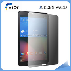 Top PET material privacy filter screen protector with customized design for Samsung Tab 4 8''
