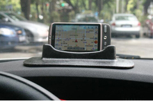 Super strong suction Silicone Rubber mobile phone holder/stents for car GPS