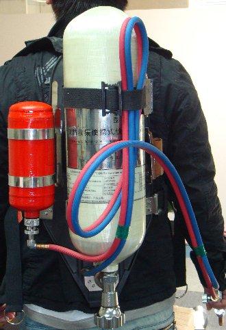 Mochila de oxígeno de corte de gas de la antorcha del equipo