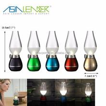 BT-4725 Blow On/Off USB Charge Adjustable Lightness Vintage Kerosene Lamp