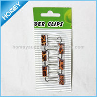 19mm binder clips set in blister card