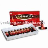 Ginseng Royal Jelly (European Union criterion and US-FDA approval)10