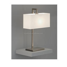 square fabric cover, fashion modern guest room table lamp, bedroom lighting