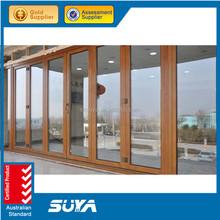 Aluminium Frame Material Type UPVC folding window