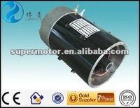 regenerative braking electric golf car motor 3kw 48v