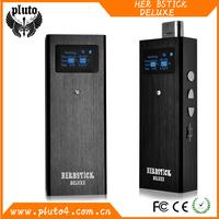 Best portable box mod 2200mah battery e cigarette Herbstick Deluxe dry herb vaporizer
