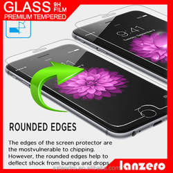 Wholesale price for Apple iPhone 5 Tempered Glass Screen Protector,9H hardness tempered glass for iPhone6/6s