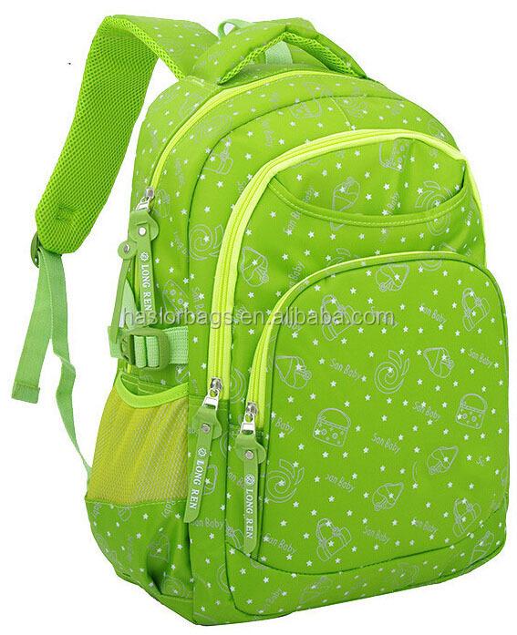 Beau modèle sac d'école / sac de livre / sacs à dos pour enfants