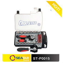"1/2"" DR. Automotive Hand Tool Function 45PCS Carbon Steel Socket Set"