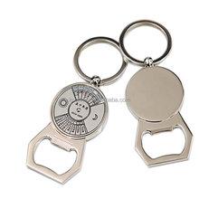 custom metal wall mount bottle opener , keychain wine bottle opener