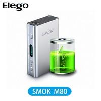 Newest Smok M80 Plus Box Mod High Watt Box Mod M80, subtank mini bell cap wholesale
