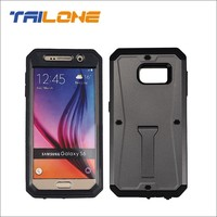 Hot sell 3 in 1 combo case with kickstand for Samsung galaxy s6 case