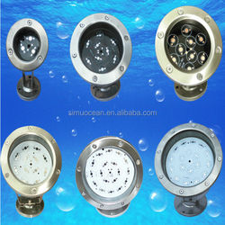 3W E27 Wholesale Led Swimming Pool Underwater Light from 5 years Dongguan simu lighting factory