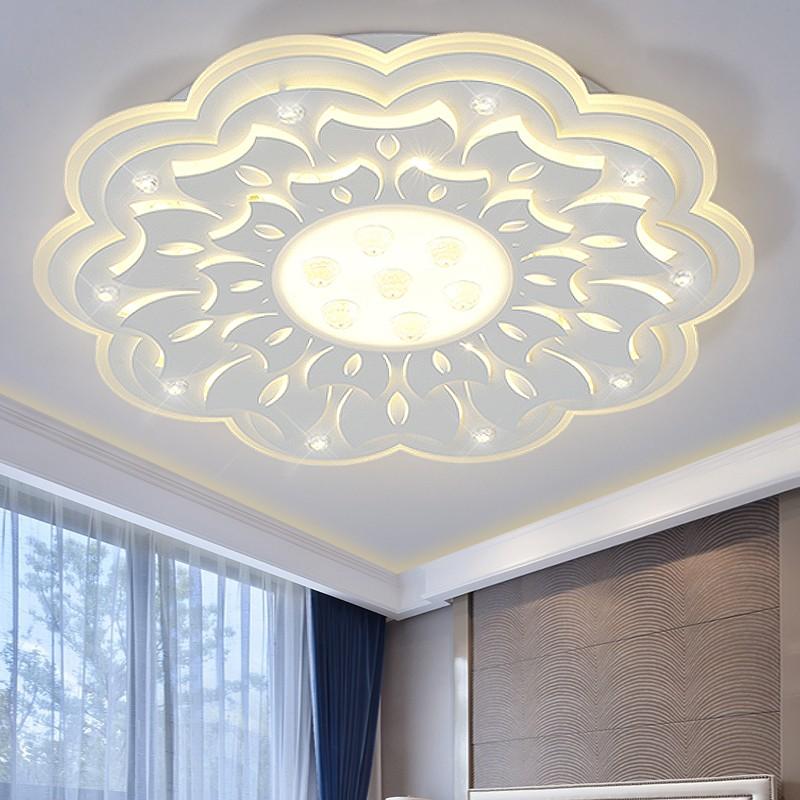 grande minimalista led moderna lmpara de techo para la sala de estar dormitorio led lamparas de