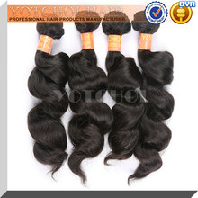 virgin asian hair weave 100% unprocessed remy human hair can be dyed many color 8-28inch in stock