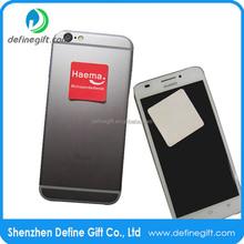 Promotional Gift Custom Design Mobile Phone Microfiber Sticky Screen Cleaner