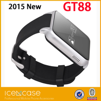Slim design android 4.0 smart watch 2g wrist watch phone video calling+WiFi