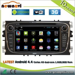 Universal android touch screen 2 din 7 inch in dash detachable tablet car dvd player with 3g wifi vcd mp3 mp4 camera gps TK8300