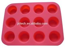 Profesional molde de pastel de silicona fábrica