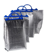 Factory disposable EPE aluminium foil cooler bag thermal bag for ice cream