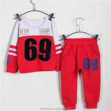 OEM 2014 fashion boy high quality low price suit numbers pictures children kids baba suit