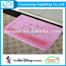 fashion decorative home door rug  digital printing microfiber custom foot rug