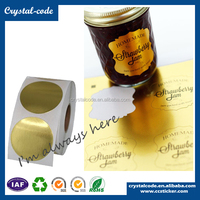Glossy disposable silver foil paper,glossy lamination aluminum foil sticker