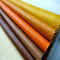 leather home textile fabric 100% polyester upholstery brushed suede