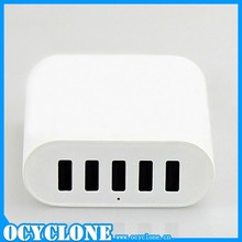 5-Port USB Smart Charging Station with Intelligent Charging IC for iphone