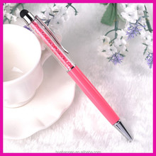 touch stylus pen for mobile phone promotion crystal ball pen for promotion gift
