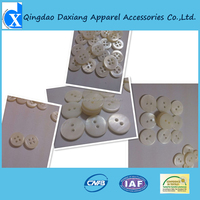 2015 good quality real white trocas shell button