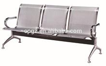 2014 china 3- plazas de alta sillones de espera para peluqueria